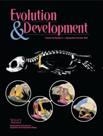 Cover of Evolution & Development