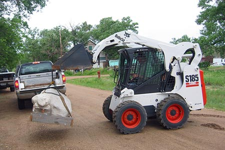 Ranse operates the Bobcat
